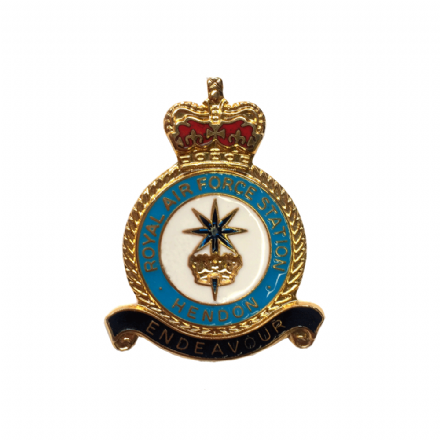 Royal Air Force RAF Station Hendon Lapel Badge Lapel Badge